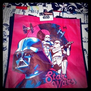 🌠 NWT Retro Pink Look Stars Wars Tote Bag  🌠